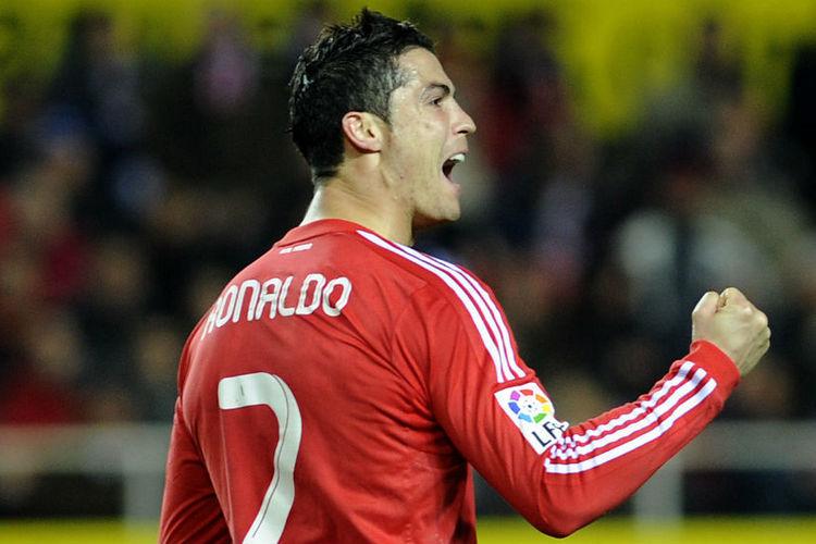 Роналдо в краснай форме реал мадрид