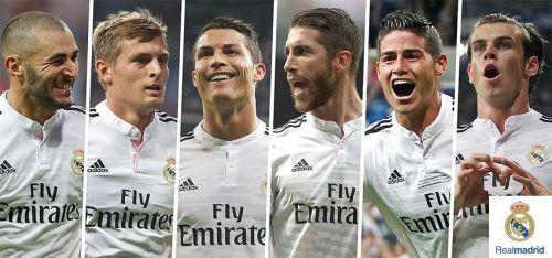 Реал мадрид фото всех игроков